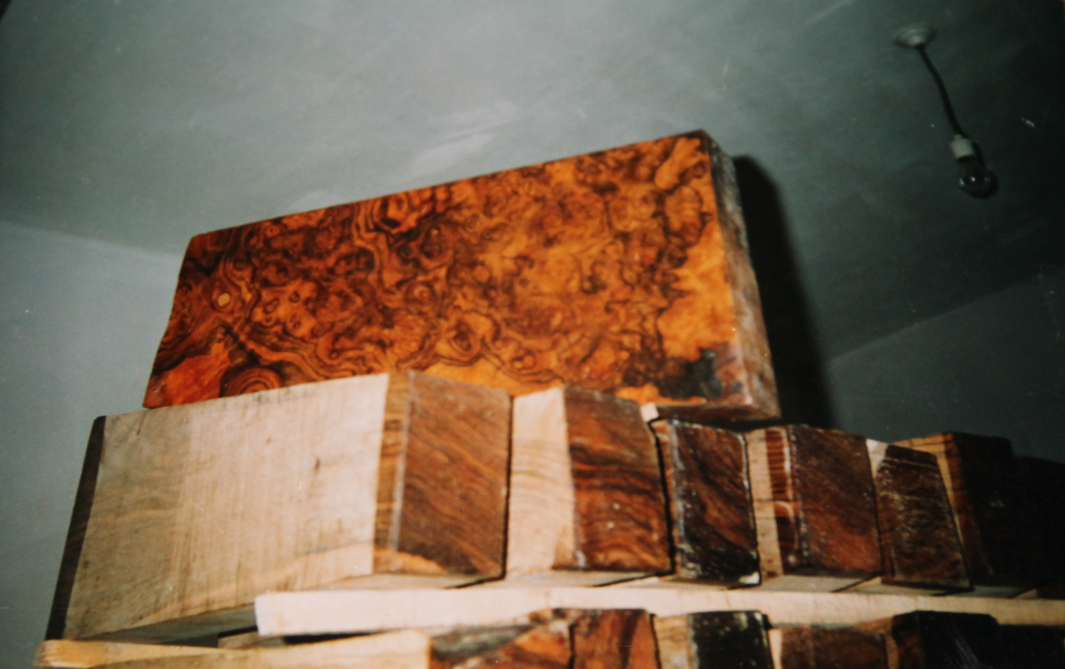 Walnut Burr/ Burl Butts