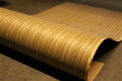 "RELVENFLEXâ""¢ FLEXIBLE ZEBRANO VENEER SHEETS"