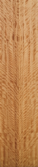 Figured Eucalyptus veneered boards.